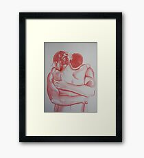 Body heat Framed Print