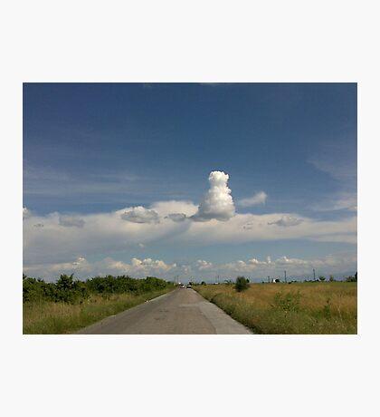 Strange cloud Photographic Print