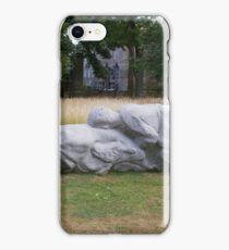 sculpture - nearby to Edinburgh Parliament iPhone Case/Skin