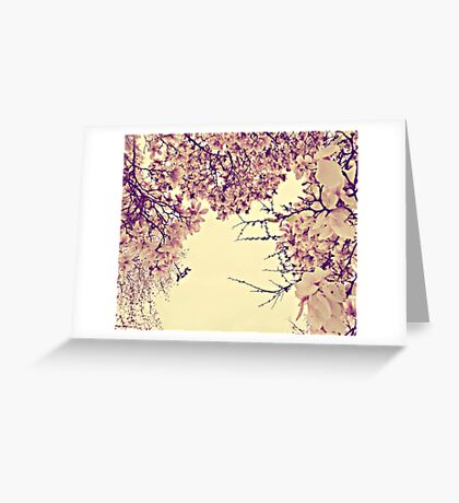 blossoms on top of me Greeting Card