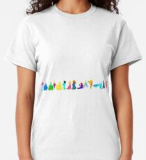 14 Princesses Inspired Silhouette Classic T-Shirt