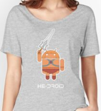 He-Droid Women's Relaxed Fit T-Shirt