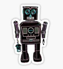 Lantern Robot 3 Sticker