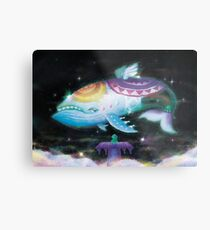 Wind Fish  Metal Print