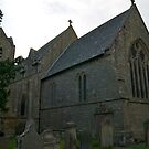 St Cuthberts Church, Plumbland. (East Face) by Lou Wilson