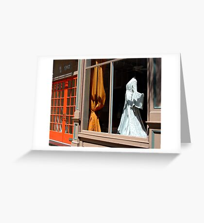 Dress For Sale Greeting Card