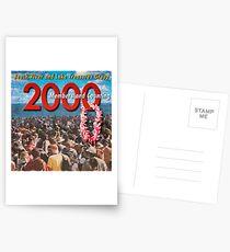 2000 Members Banner Postcards