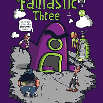 Fantastic Three by scoweston
