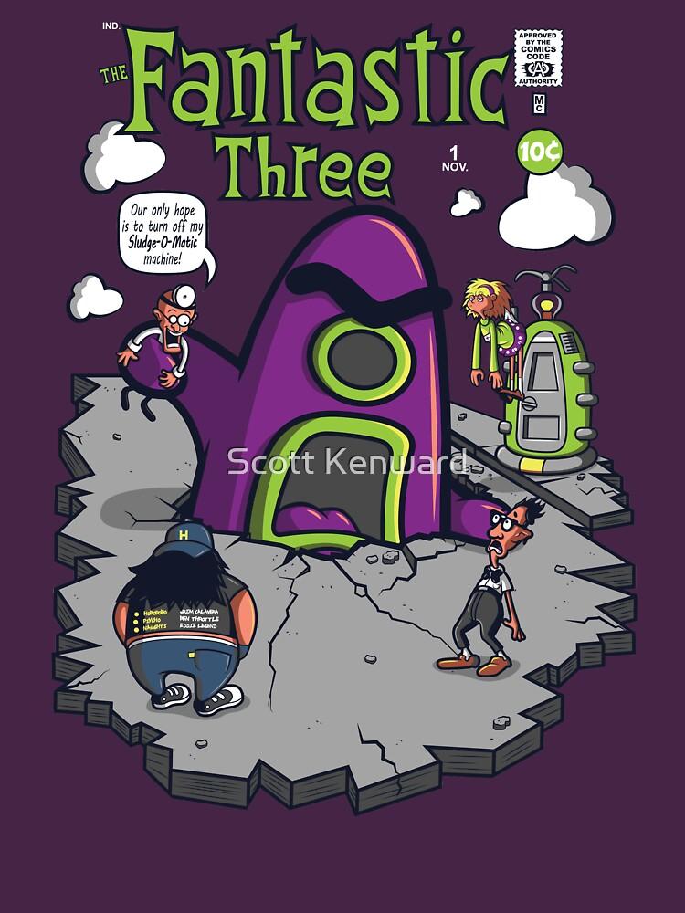 Fantastic Three by scoweston