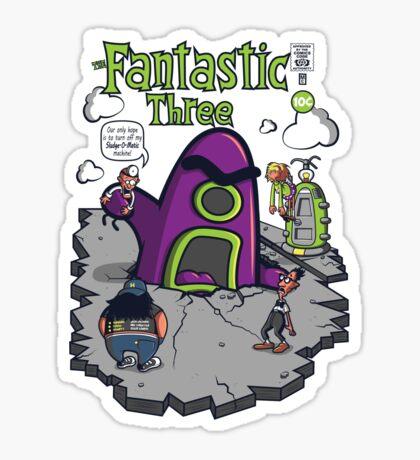 Fantastic Three Sticker