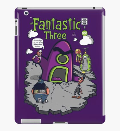 Fantastic Three iPad Case/Skin
