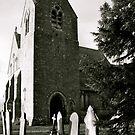 St Cuthberts Belfry by Lou Wilson