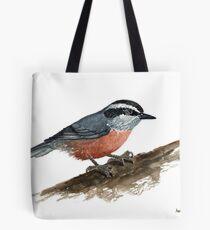 Sitta canadensis Tote Bag