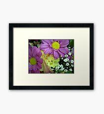 floral 4 Framed Print