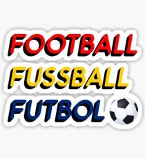 Football Fussball Futbol Sticker