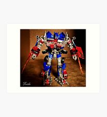 Optimus Prime - Transformers Art Print