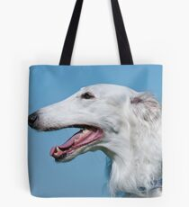 Russian Wolfhound Tote Bag