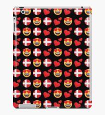 Love Danish Emoji JoyPixels Travel to Denmark iPad Case/Skin