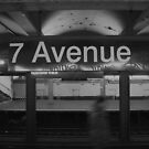 7th ave. subway, new york city by tim buckley | bodhiimages
