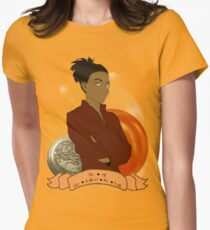 Doctor Who: The girl who walked the Earth - Martha Jones Womens Fitted T-Shirt
