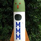 Rocket Mailbox by Marilyn Harris