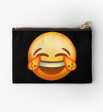 Laughing nervously Zipper Pouch