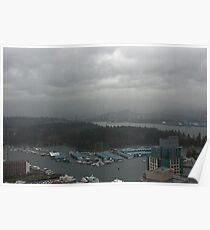 Vancouver. Downtoun V Poster