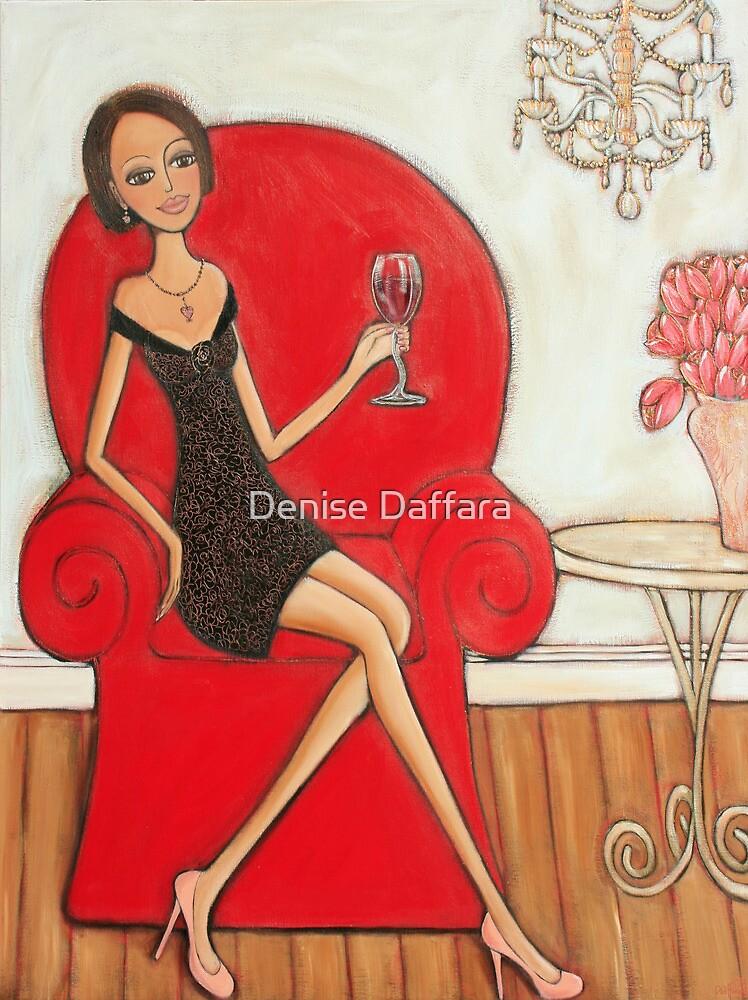 A Nice Red by Denise Daffara