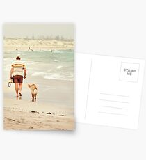 Mans Best Friend Postcards