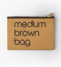 medium brown bag mug Studio Pouch