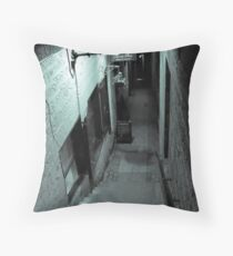 Back street Alley Throw Pillow