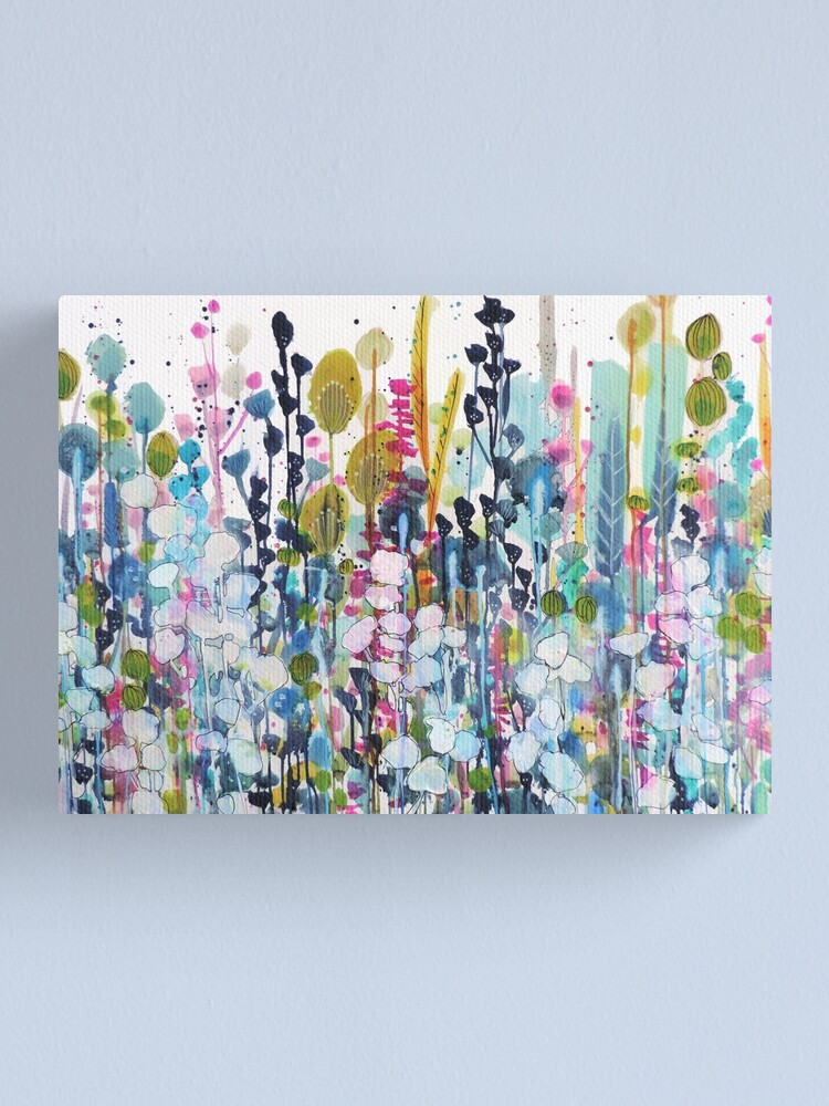Alternate view of colorful side road Canvas Print