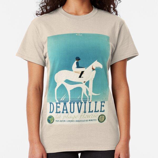 Art Deco Horse Racing, Greyhound Racing, vintage sport Classic T-Shirt