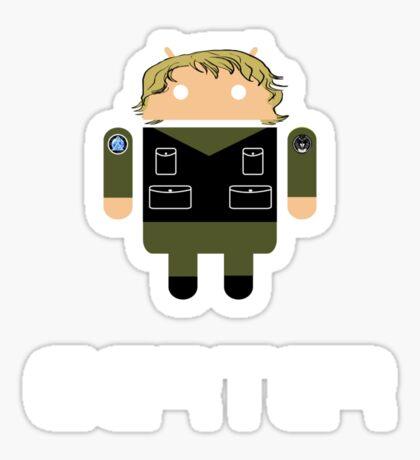 Droidarmy: Sam Carter SG-1 Sticker