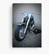 bling rider Canvas Print