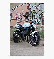 urban rider Photographic Print