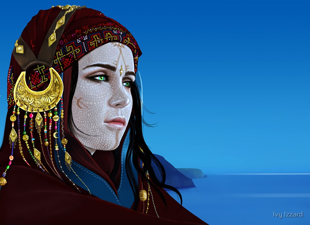 Iphigenia in Taurus by Ivy Izzard