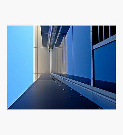 Blue vision - Edith Cowan University Mt Lawley - Perth, Western Australia Photographic Print