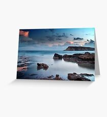 Evening Light On St. Georges Island Greeting Card