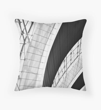 Airport Arches Throw Pillow