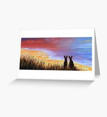 Hare Today Gone Tomorrow! Greeting Card