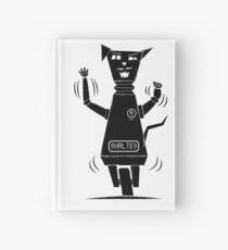Robot Cat Hardcover Journal
