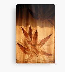 Behind The Bamboo Curtain... Metal Print
