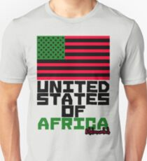 UNITED STATES OF AFRICA Unisex T-Shirt