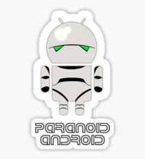 PARANOID ANDROID Sticker