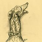 Happy Hound by Elle J Wilson