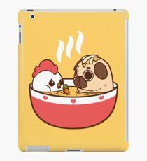 Chicken Noodle Puglie iPad Case/Skin