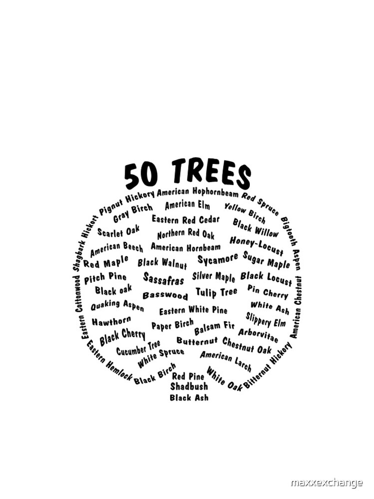 50 Trees Arbor Day Arborist Plant Tree Forest Gift. by maxxexchange