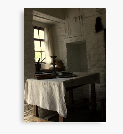 The Seat by the Window Canvas Print