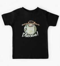 More marshmallows please Kids Tee